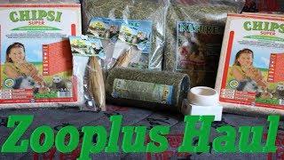 Zooplus Bestellung Unboxing (Hamster & Farbmäuse)