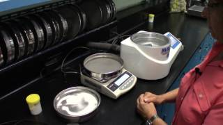 Air Jet Sieve Particle Size Analysis Tes