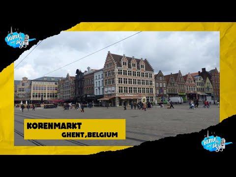 Korenmarkt in Ghent: Twenty-sixth Destination
