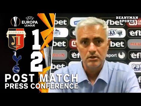Lokomotiv Plovdiv 1-2 Tottenham - Jose Mourinho - Post Match Press Conference - Europa League