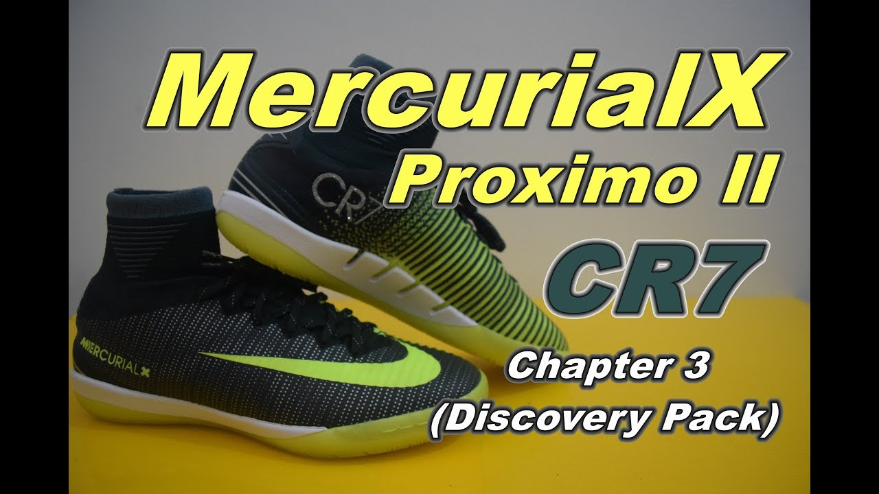 Nike MercurialX Proximo II CR7 Chapter 3 Discovery Pack  2fdc5af32af92