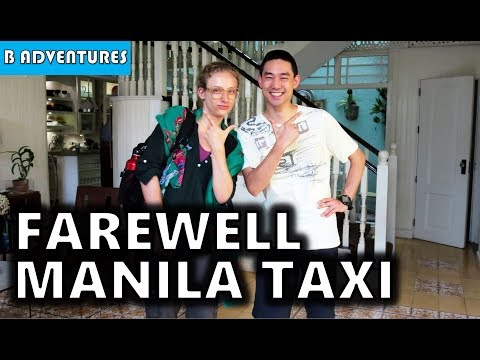 Makati Manila: Farewell Travel Gretl & Taxi's, Philippines S3, Vlog #12