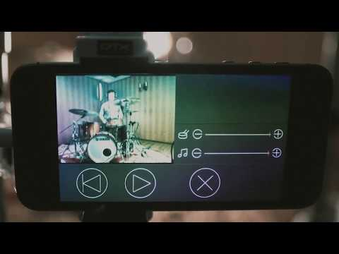 Music Videos Made Easy   Yamaha EAD10 Electronic Acoustic Drum.