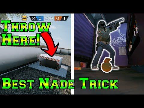 Amazing Secret Grenade Trick - Rainbow Six Siege thumbnail