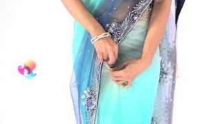 How to Wear a Nivi Style Saree in the DIY Way