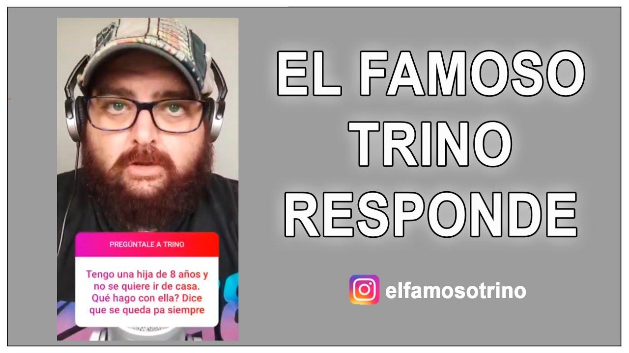 El Famoso Trino responde preguntas en Instagram @elfamosotrino