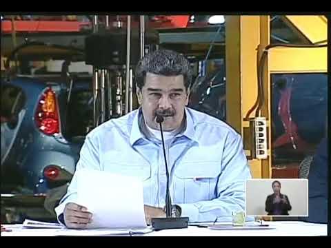 Presidente Maduro hace relanzamiento del Motor Automotriz, 21 marzo 2019