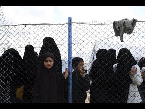 خروج أكثر من 200 سوري من النساء والأطفال من مخيم الهول  - 21:00-2019 / 12 / 8