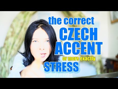 CZECH #3 - Czech accent (stress)