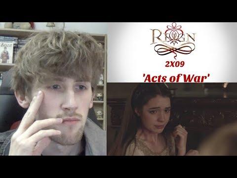 Reign Season 2 Episode 9 - 'Acts Of War' Reaction