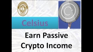 Earn Passive Crypto Income with Celsius