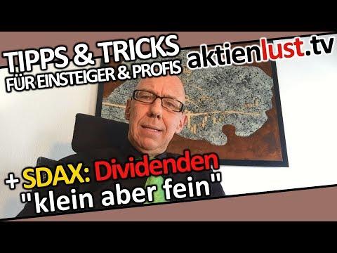 Klein aber fein: Dividendenrekorde im SDAX! | aktienlust | Mick Knauff