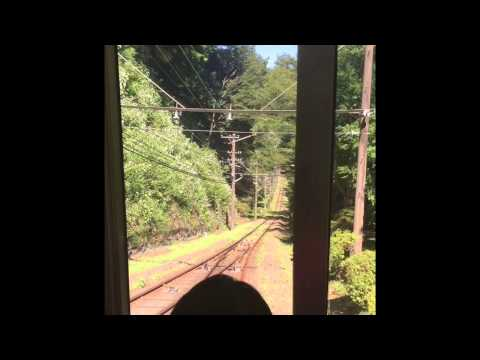 Ryosuke Rides a Cable Car On Mt. Takao, Hachioji, Tokyo