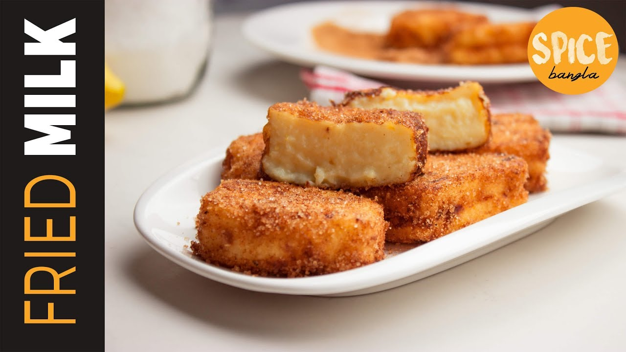 Fried milk: a recipe for making an unusual dessert and not only 24