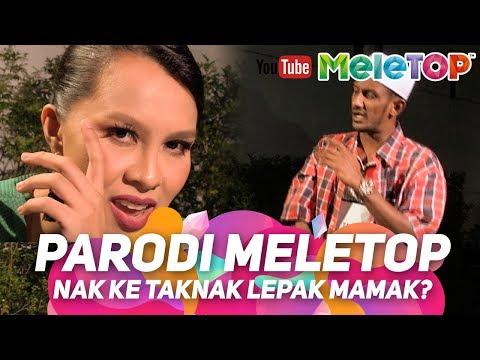 Parodi MeleTOP Done ! Nak ke tak nak lepak mamak? | Jihan Muse, Syuk & Mamak Puteh