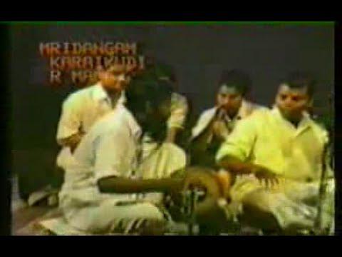 Guru Karaikudi R Mani - Mridangam Solo