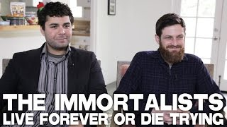 THE IMMORTALISTS - Live Forever Or Die Trying - Full Interview with David Alvarado & Jason Sussberg