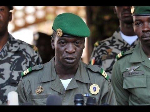 Interview du général Amadou Haya Sanogo après son arrestation