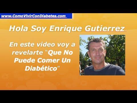 Que No Puede Comer Un Diabetico | Dieta Para Un Diabetico