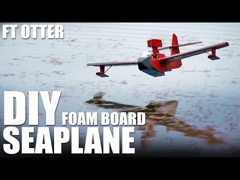 DIY Foam Board Seaplane - FT Sea Otter | Flite Test - YouTube