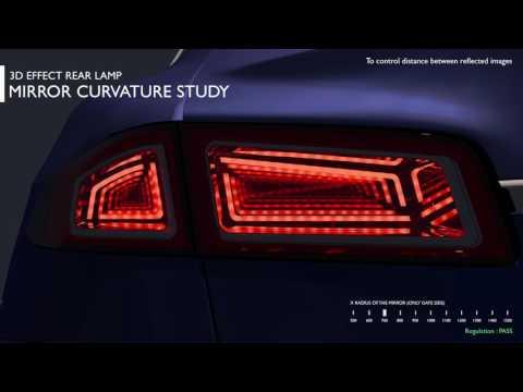 OPTIS Rear lamp 3D effect