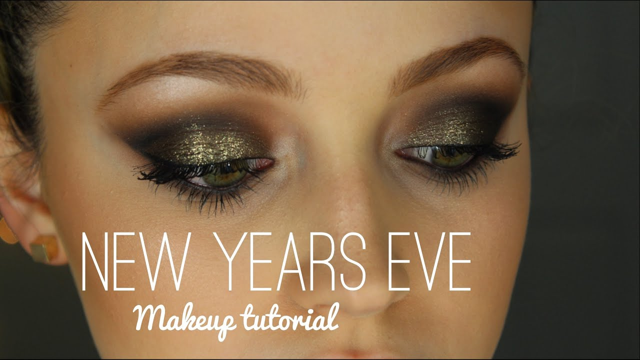New Years Eve Makeup Tutorial! - YouTube