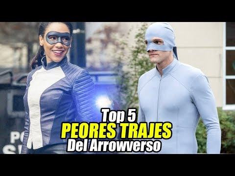 Top 5 PEORES TRAJES Del Arrowverso (Según los Suscriptores)