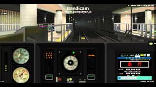 BVE5 東急目黒線でATO(自動列車運転装置)を使ってみた