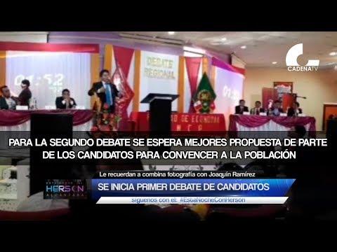 Junín: Se Inició La Fiesta Electoral Con Primer Debate De Candidatos