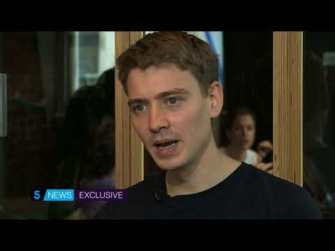 Exclusive - Euan Blair's first ever television interview