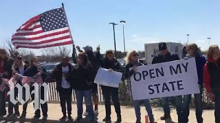 Anti-shutdown protests erupt across the U.S., as states remain closed for coronavirus