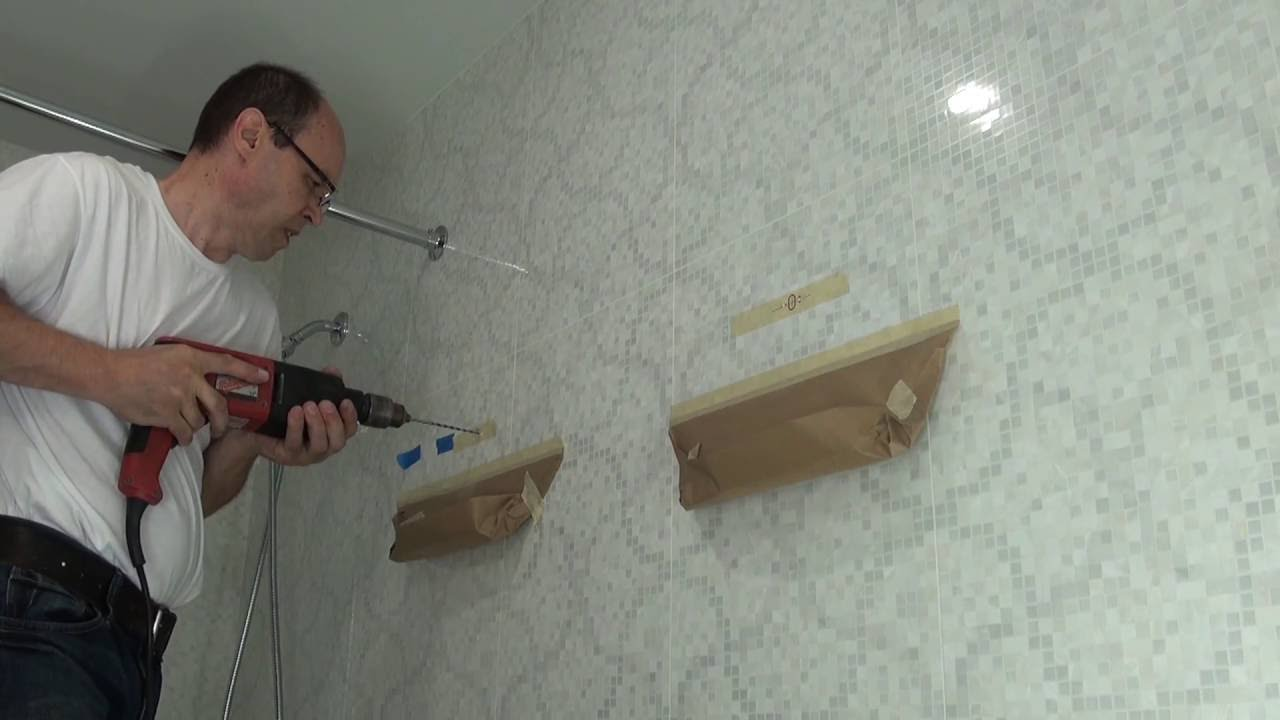 how to drill into tile without breaking it