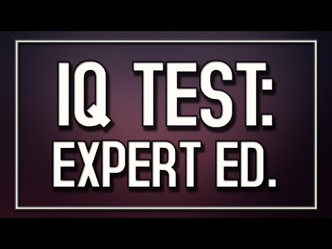 Download Youtube: IQ Test: Expert