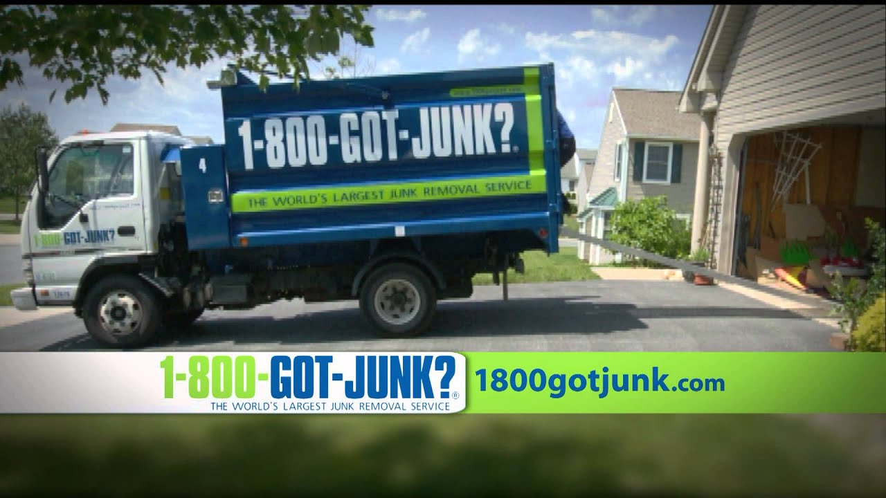 Reading Junk Removal Company 1-800-GOT-JUNK? - YouTube