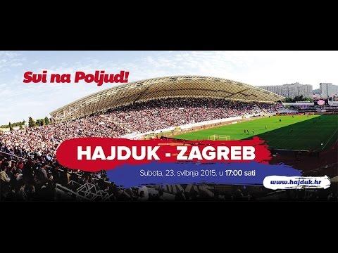HAJDUK - ZAGREB RADIO NAJAVA