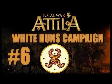 Total War: Attila - White Huns Campaign #6