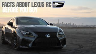 Facts About The LEXUS RCF No One Ever Tells You Before You Buy