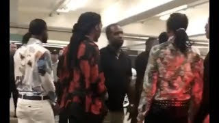 Migos And Chris Brown Fight Over Karrueche At BET Awards