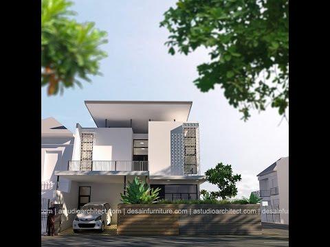Desain rumah lahan 12x14 Hook