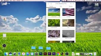 Set Live Wallpapers Animated Desktop Backgrounds In MAC OS