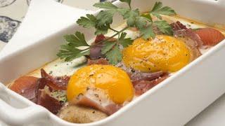 Huevos al horno - Karlos Arguiñano