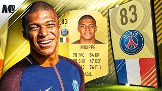 One of Marshall89HD's most viewed videos: FIFA 18 MBAPPE REVIEW | 83 MBAPPE PLAYER REVIEW | FIFA 18 ULTIMATE TEAM
