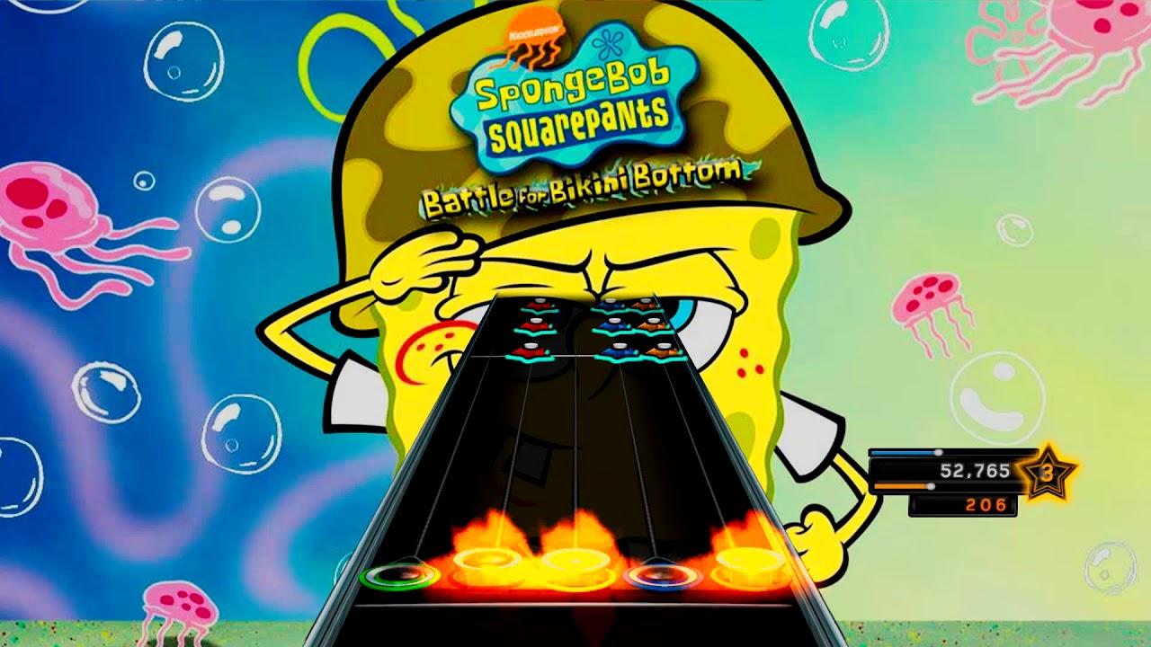 Spongebob clone