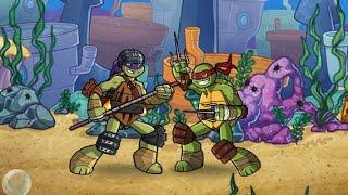 Nickelodeon Super Brawl World (Черепашки ниндзя мир супер драк)