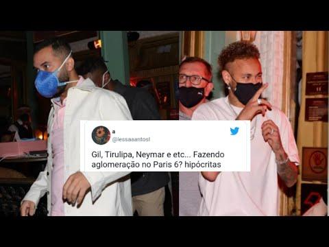 Video - Gil do Vigor flagrado em jantar com Neymar em plena pandemia - Cancelado !