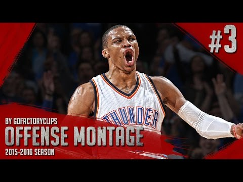 Russell Westbrook Offense Highlights Montage 2015/2016 (Part 3) - UNSTOPPABLE FORCE!