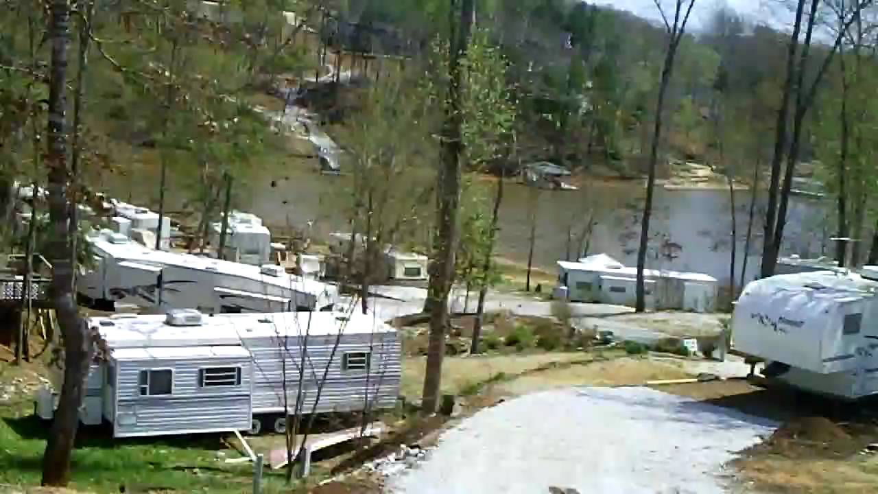 Lake Keowee Rv Camping Youtube