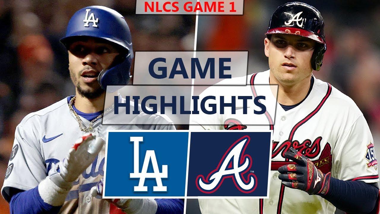 Los Angeles Dodgers vs. Atlanta Braves Highlights | NLCS Game 1 (2021)