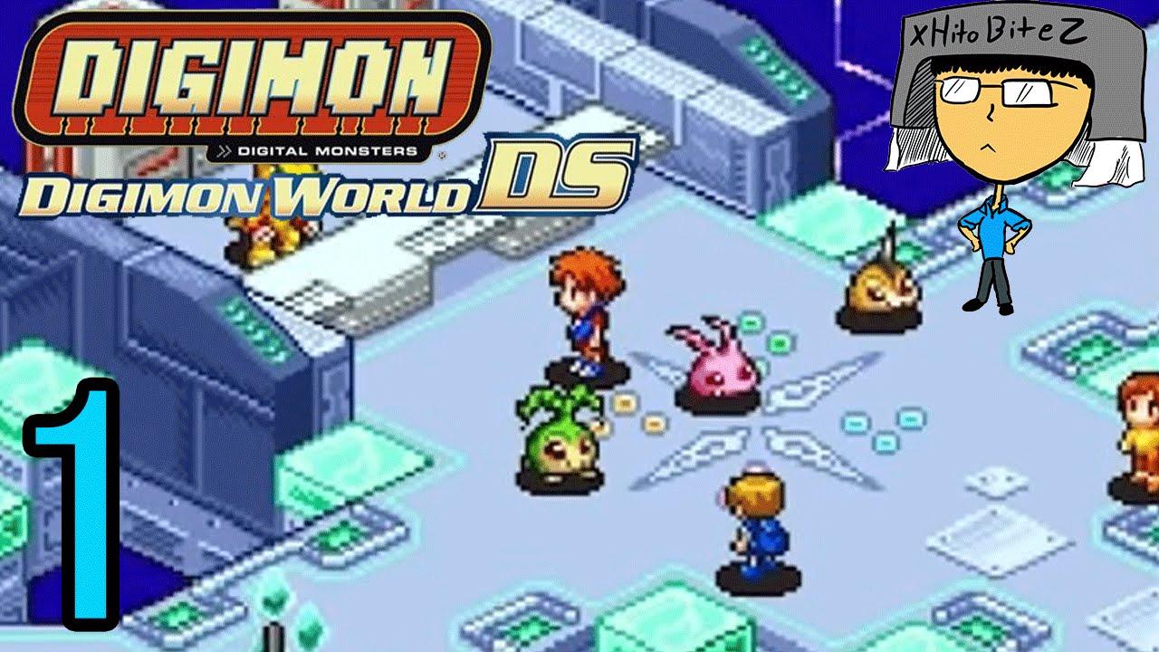 Digimon world ds episode 1 tamer hito