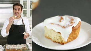 Light and Pillowy Cinnamon Rolls -  Kitchen Conundrums with Thomas Joseph - Martha Stewart